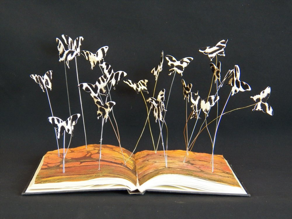 Zebra Butterflies Book Mobile