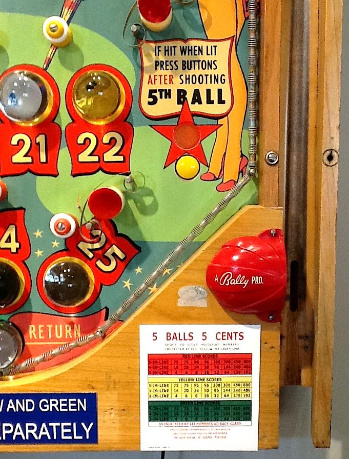 Bally 1952 Showtime