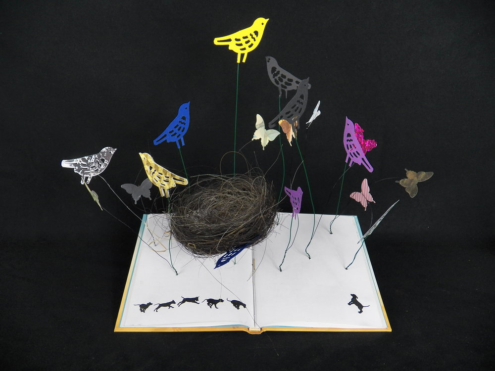 Butterfly Book Mobile