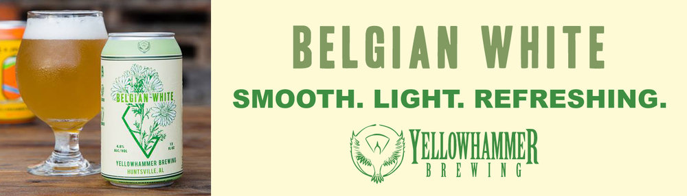 THE ORIGINAL FLAGSHIP     - The Belgian-Style Wheat Ale is light, refreshing, and quietly complex.   Brewed with kaffir lime leaves, fresh ginger, & chamomile flowers for an original take on a traditional style.    ABV ~ 4.8%
