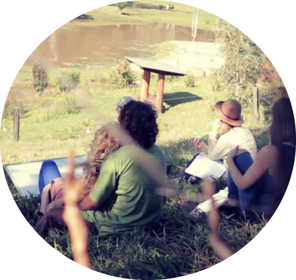 PERMACULTURE DESIGN + YOGA RETREAT   Learn how to design a natural, empowered and self-sufficient permaculture space and create conscious community in a yogic environment