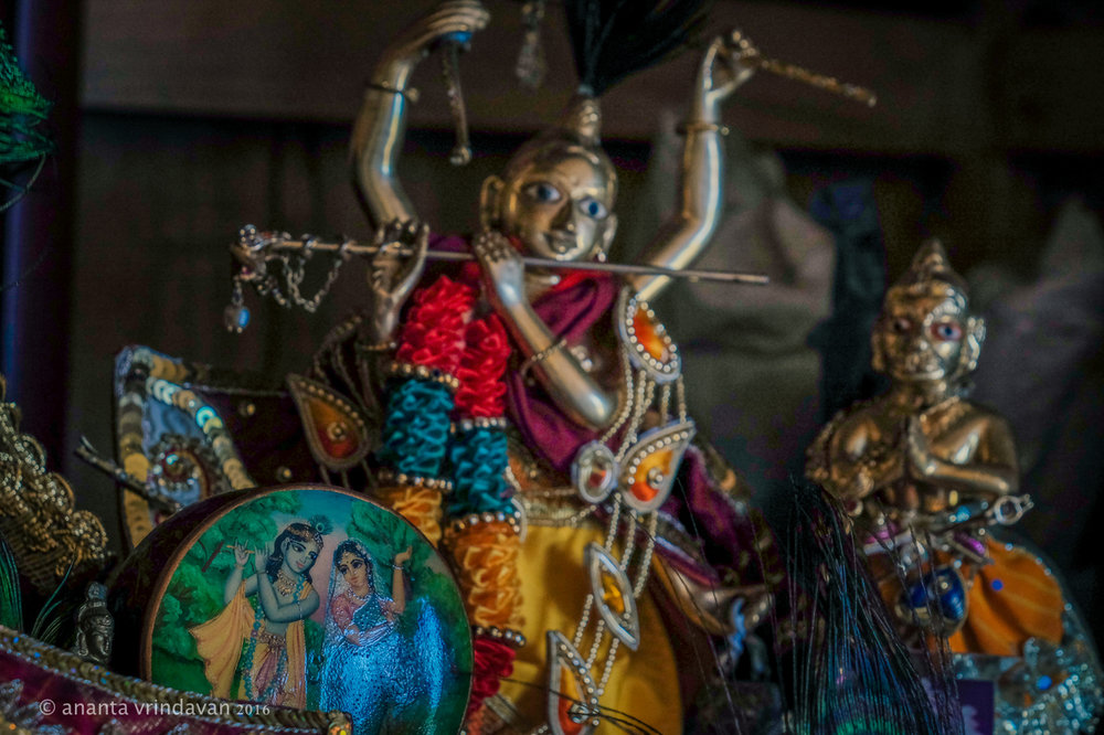 Small Deities of Gaura Nitai; Photo: Ananta Vrindavan
