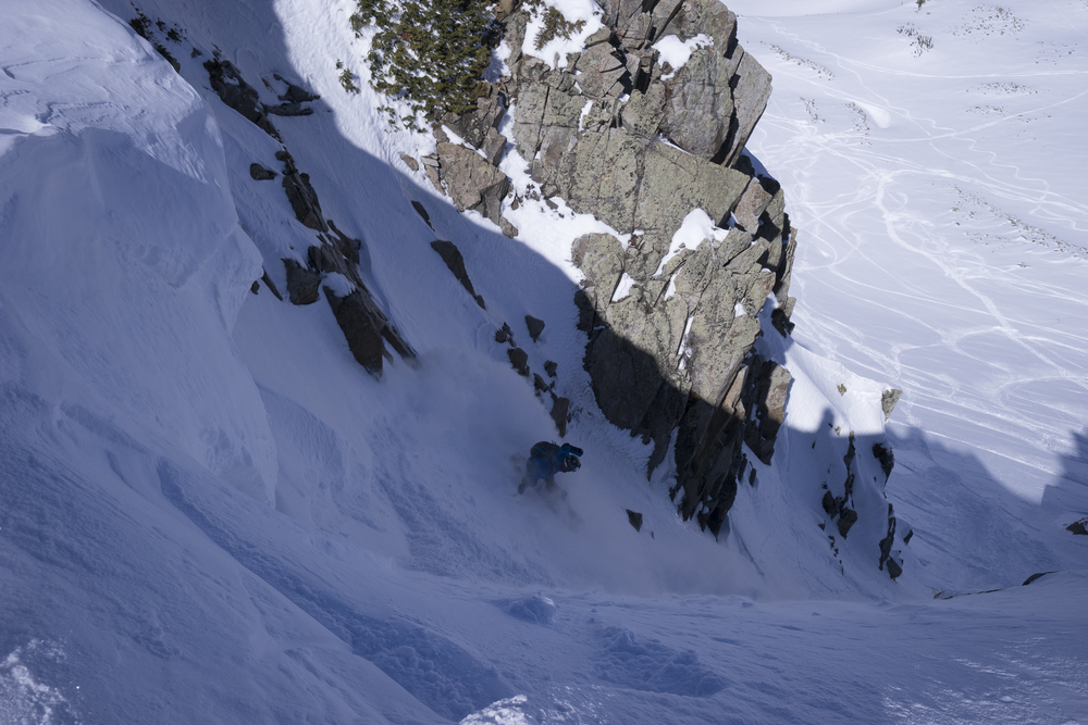 Wolvy Cirque in Little Cottonwood  Photo: Zach Husted