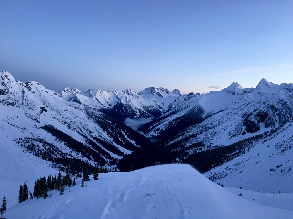 Asulkan Valley sunrise  Photo: Zach