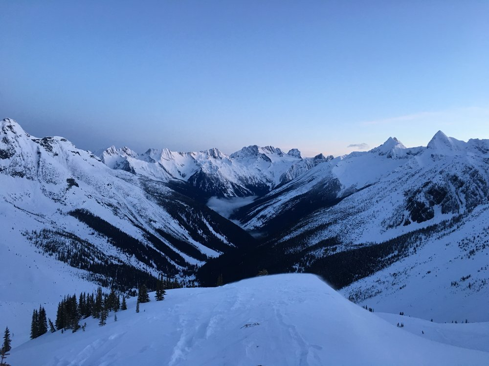 Asulkan Valley sunrise   Photo: Zach Husted