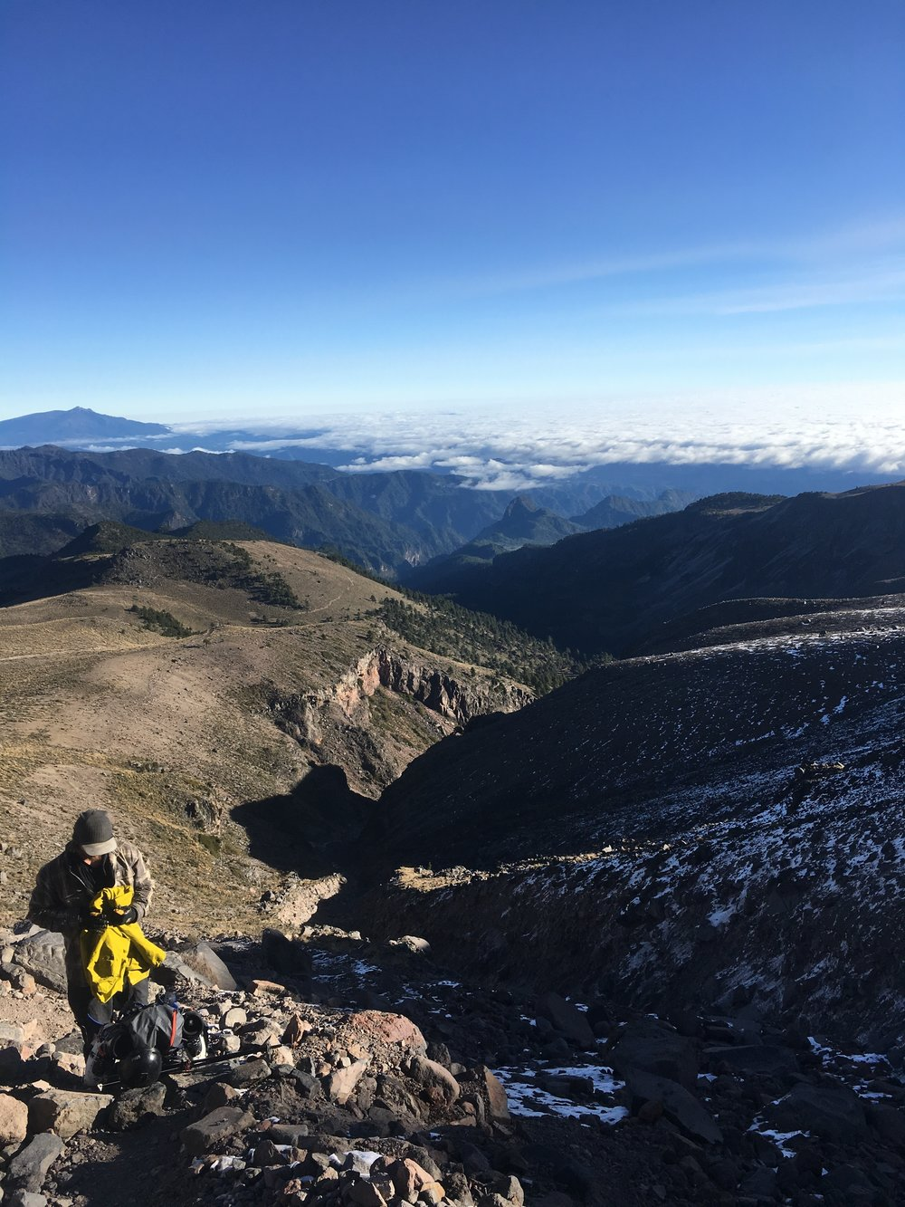 Looking at to the East from 15,400'
