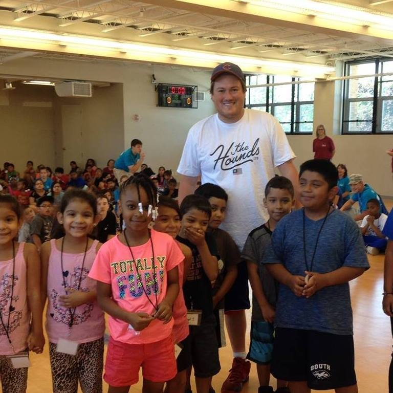 Brian ran day camp in 2016.