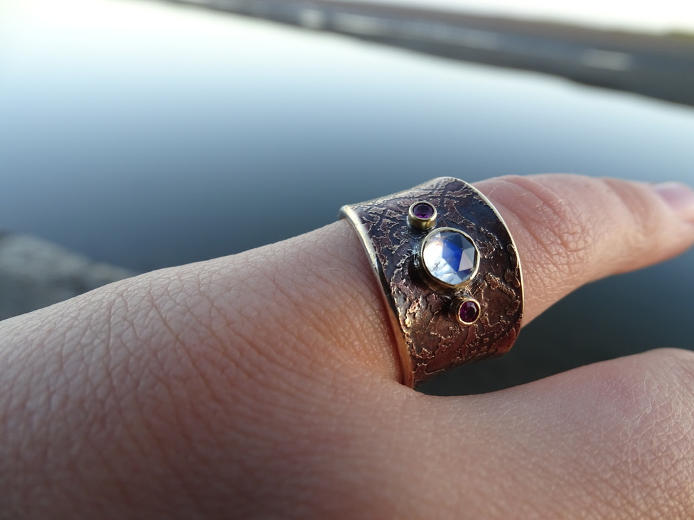 Custom ring for Jessamyn