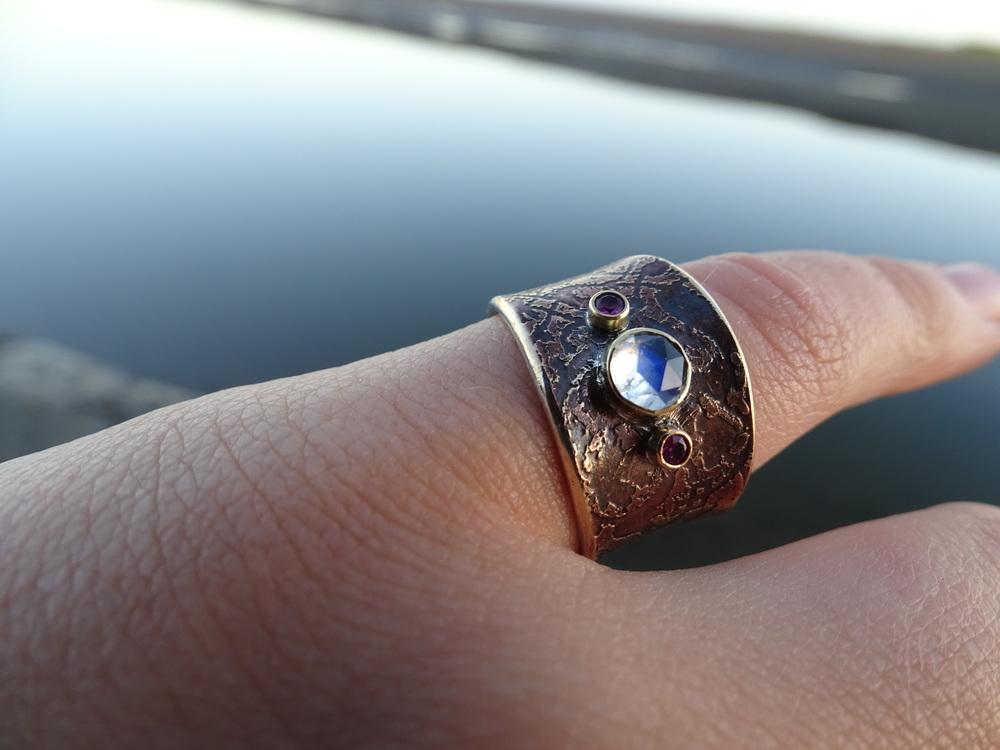 Custom ring for Jessamyn