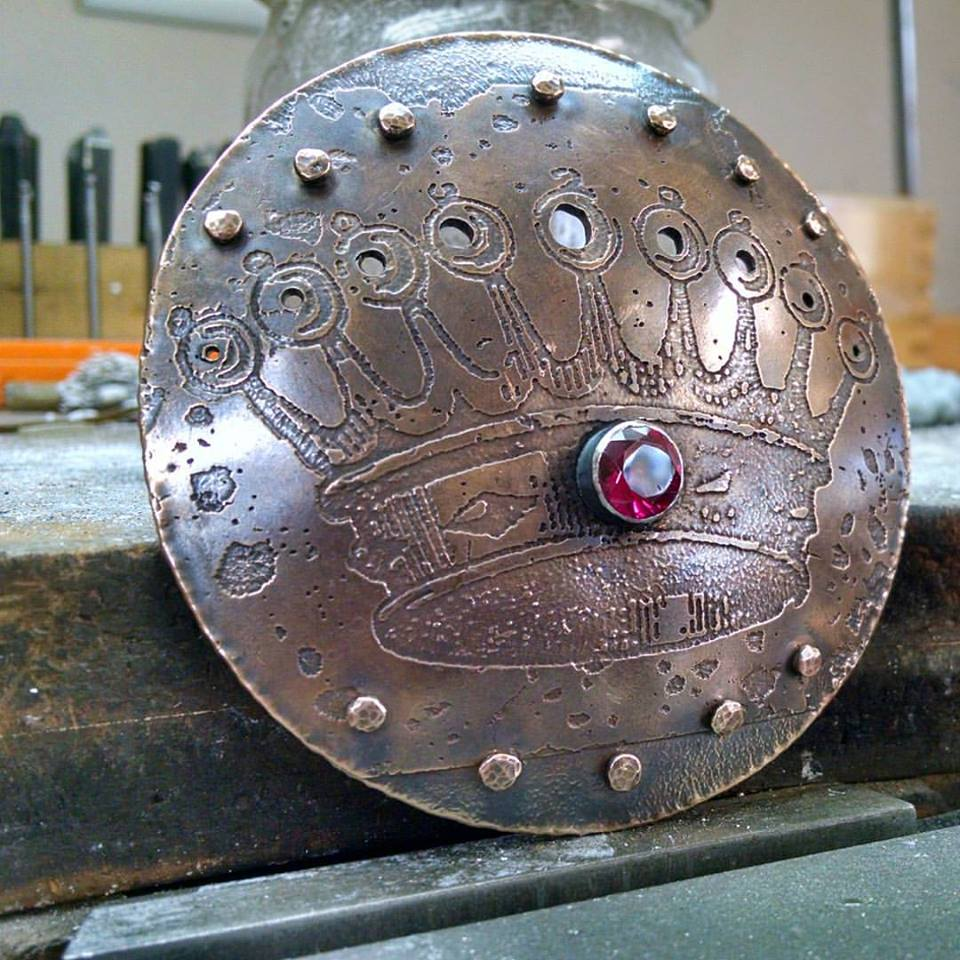 Crown buckle, fresh off the bench!