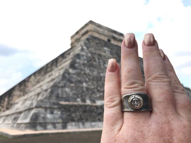 Apollo Ring in Chicheniitza, photo by Roni Gallo