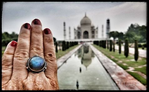 Chakra Ring at the Taj Mahal