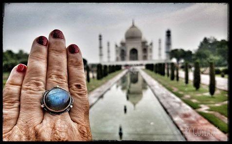Chakra Ring at the Taj Mahal