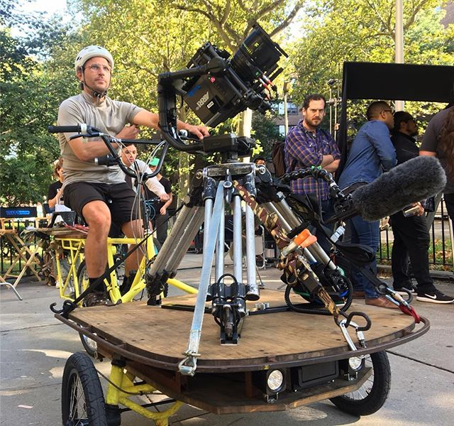 Trikes camera action!