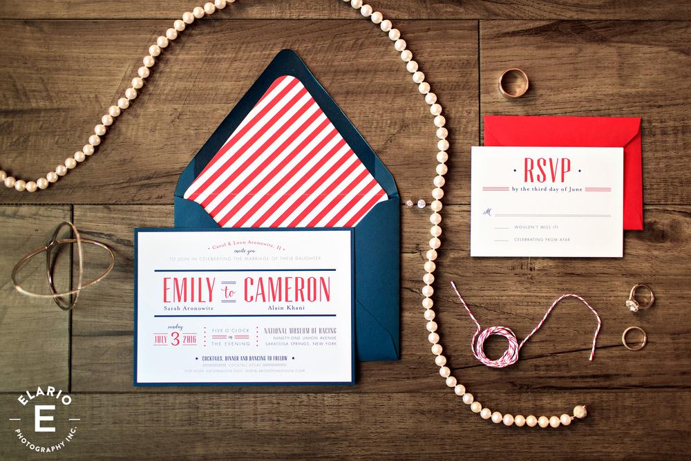 Invitation design by Jenny C Designs