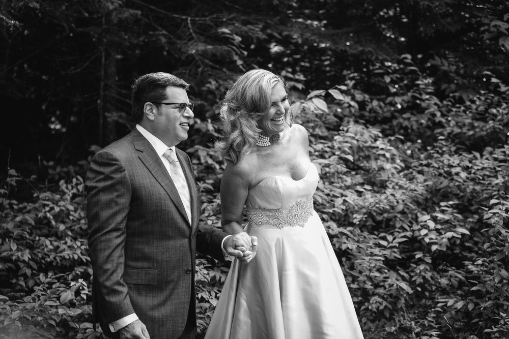 Adele + Michael - Whiteface Lodge, Lake Placid, NY