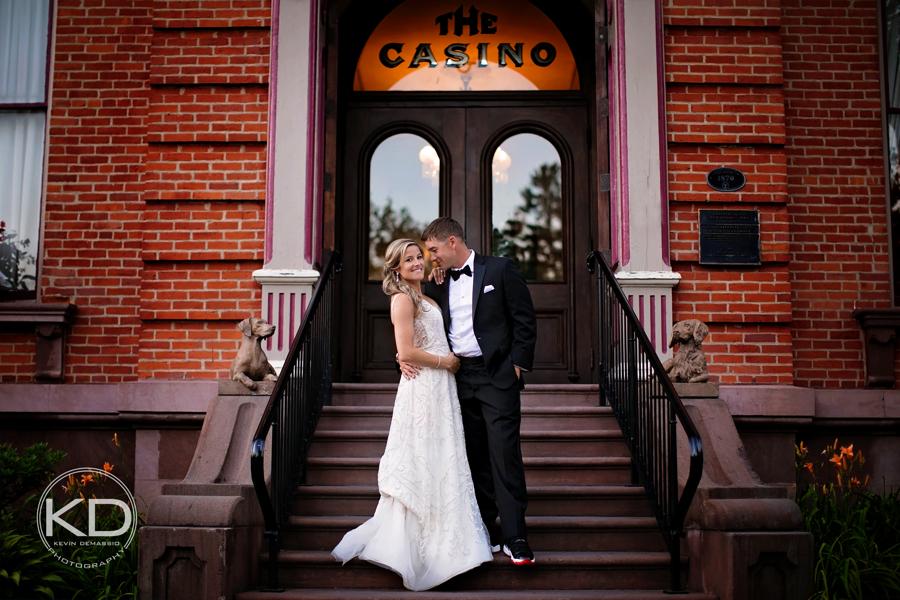 Mallory + Greg - The History Canfield Casino