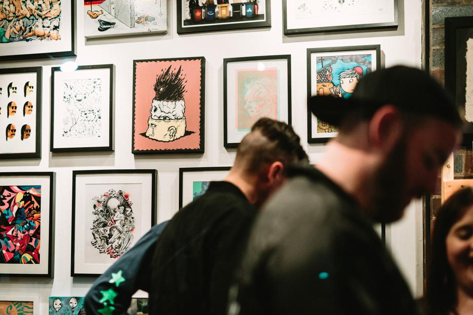 THE CULPRIT CLUB ARTIST RESIDENCY Ironlak