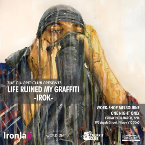 Brisbane Graffiti. Brisbane Art Gallery. Brisbane Art Exhibitions The Culprit Club