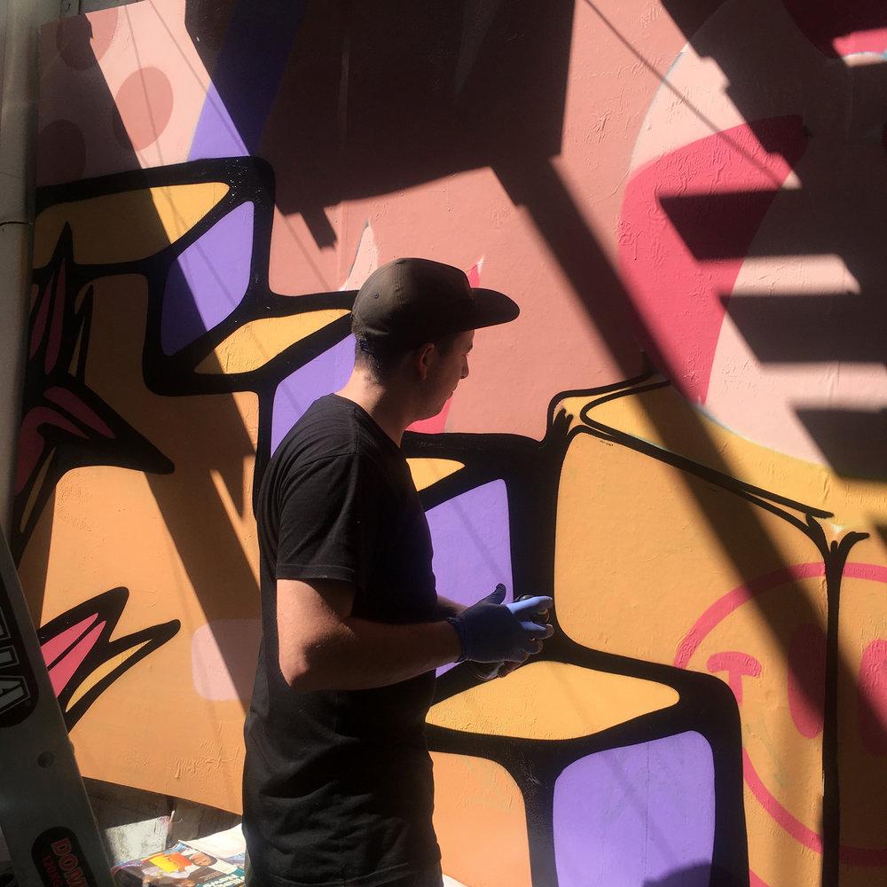 muchos graffiti winn lane fortitude valley the culprit club