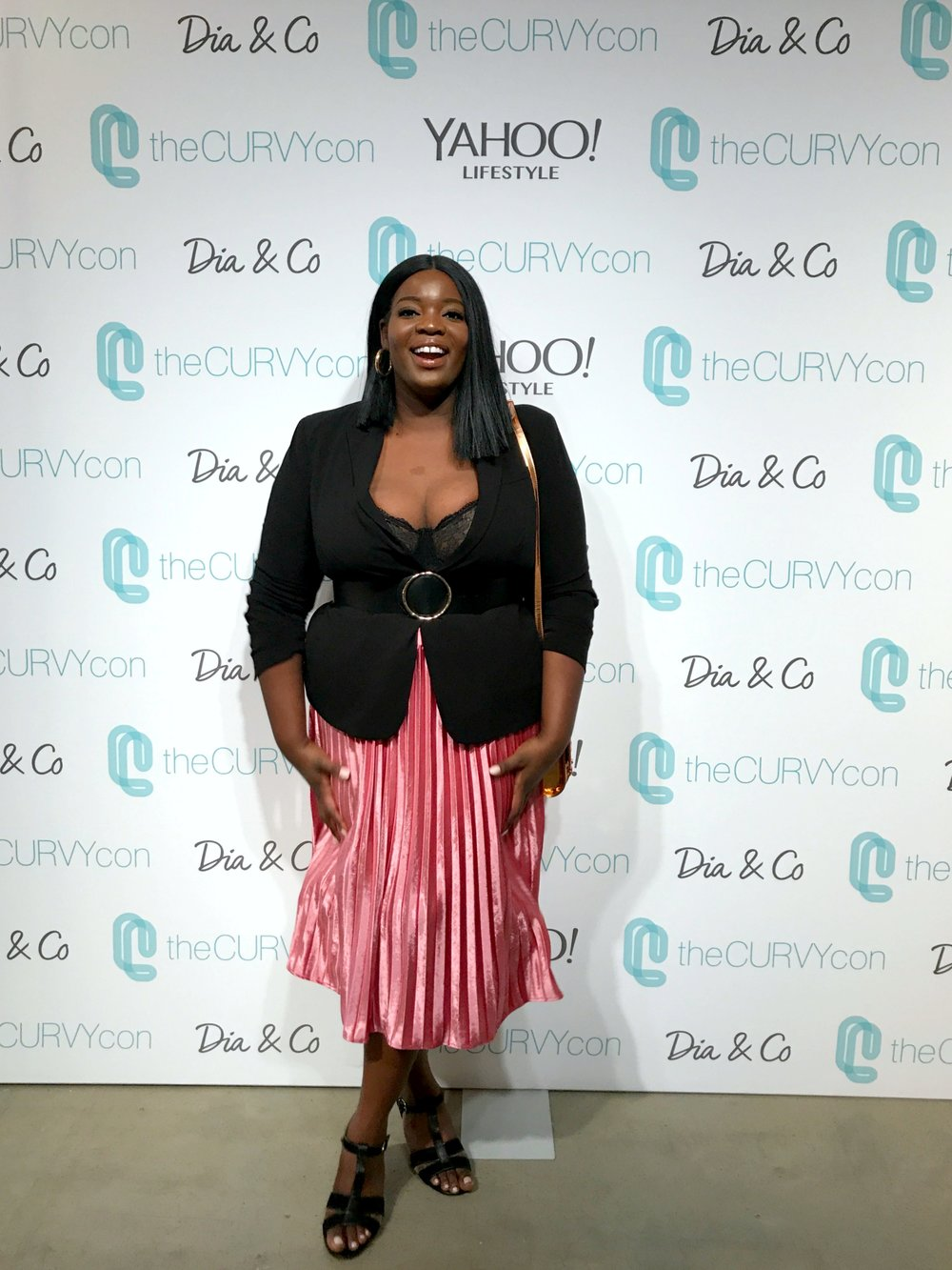2. The Curvy Con.  - The Curvy Con is an annual conference that brings together plus size brands, bloggers, and fashionistas. This year it took NYFW by storm!