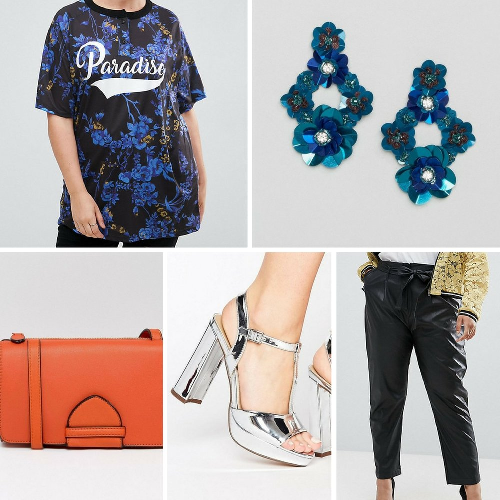 Statement Pieces - Statement jewelry is the perfect addition to a simple look. Pair your graphic tee with trendy ball drop earrings, or a cute pair like these 3D floral statement earrings. Complete the look with heels and cute accessories.