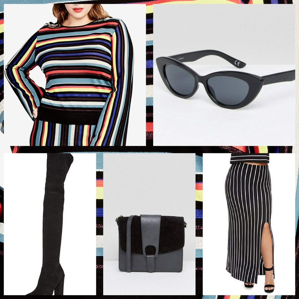 Different Stripes For Different Folks - shop the plus size look below