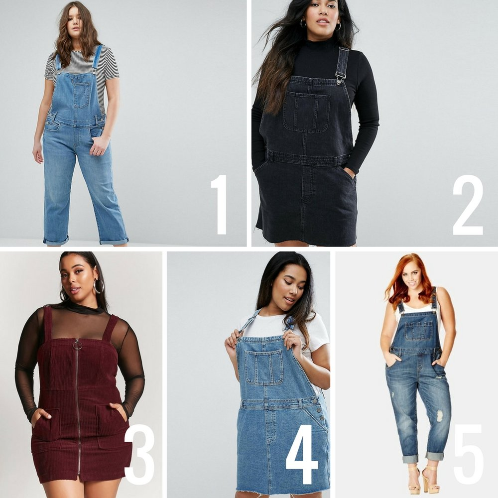 e2c07f10b1 PLUS SIZE GUIDE  10 OVERALLS + HOW TO STYLE THEM FOR FALL WINTER ...