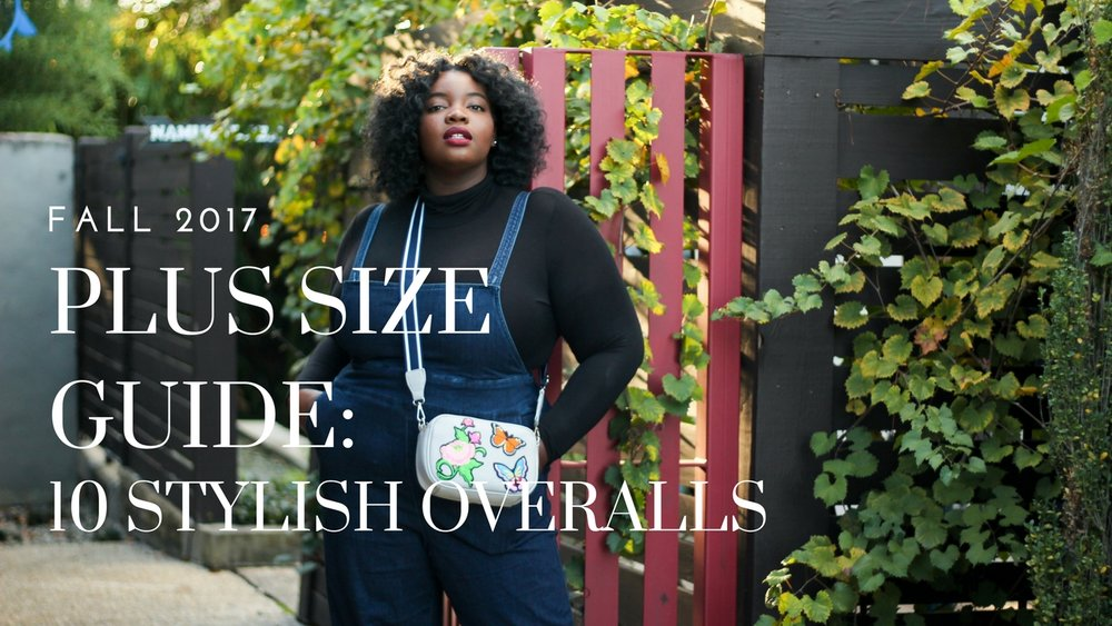 abe7f6dc209 PLUS SIZE GUIDE  10 OVERALLS + HOW TO STYLE THEM FOR FALL WINTER ...