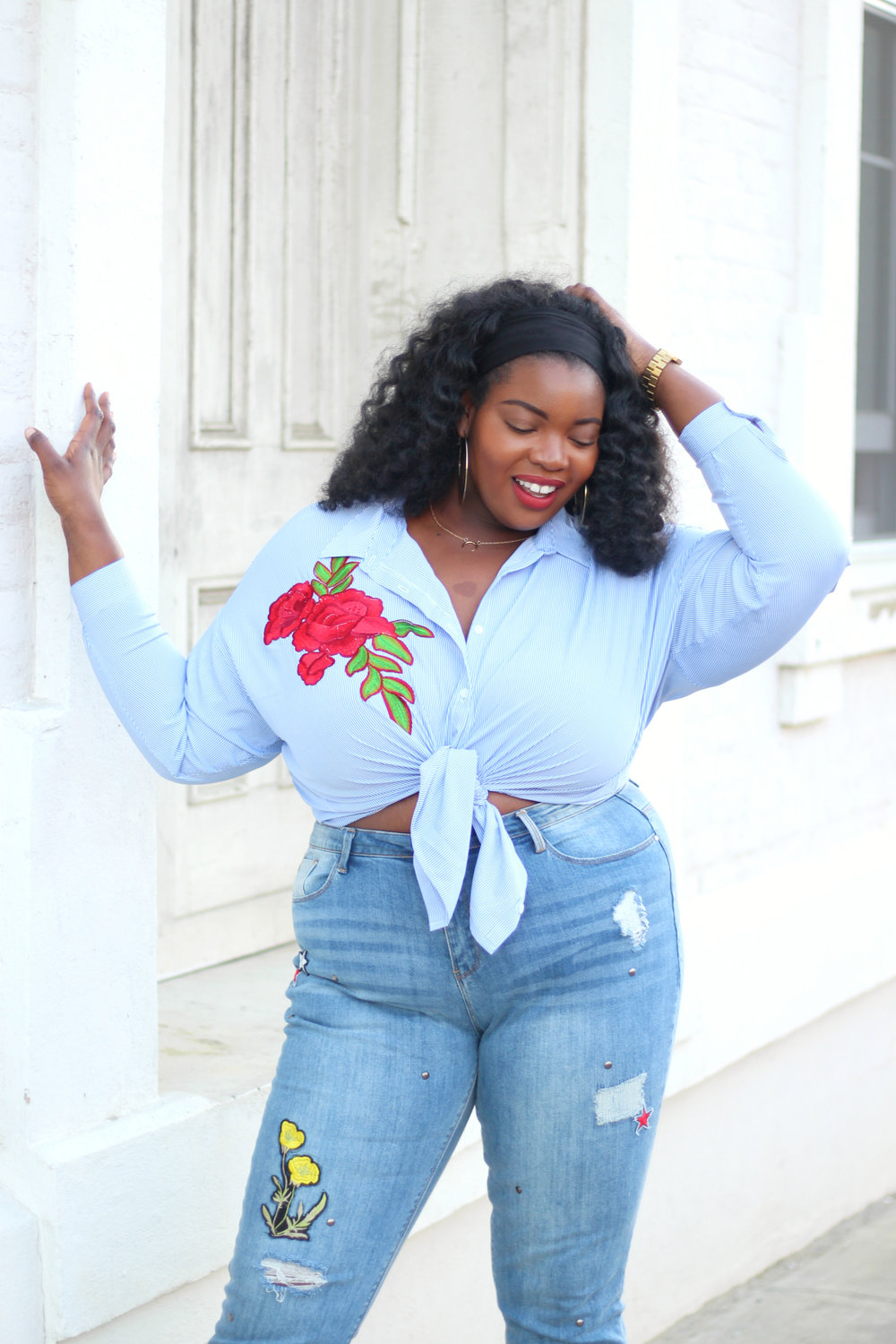 plus-size-jeans-patchwork-denim-simply-be-embroidered top 6.jpg