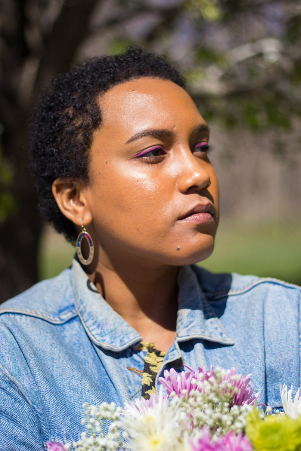 Amber Delgado - Amber is a filmmaker, curator and art historian working to make art and academic spaces more accessible to marginalized people. She is releasing a zine in June that will serve as an introductory text to museum studies.(IG/Twitter: @droopla)