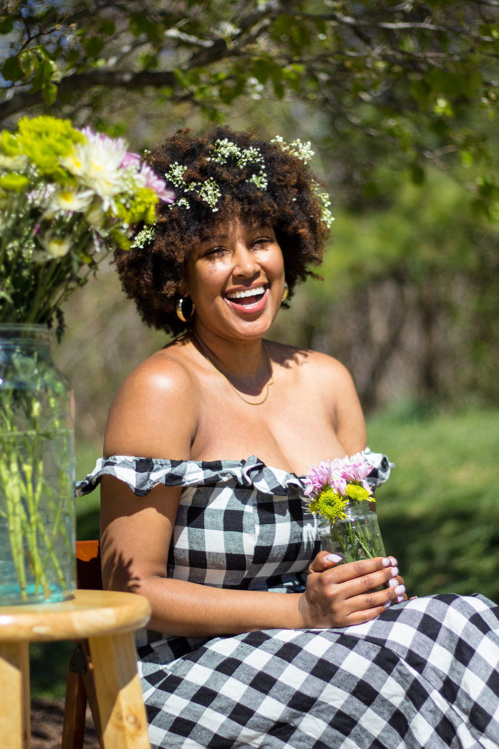 SIMONE COPE - Simone is a lawyer and natural hair enthusiast. She is also a co-founder of Black Brew Movement, a platform that seeks to diversify the craft beer industry.(IG: @nappysim)