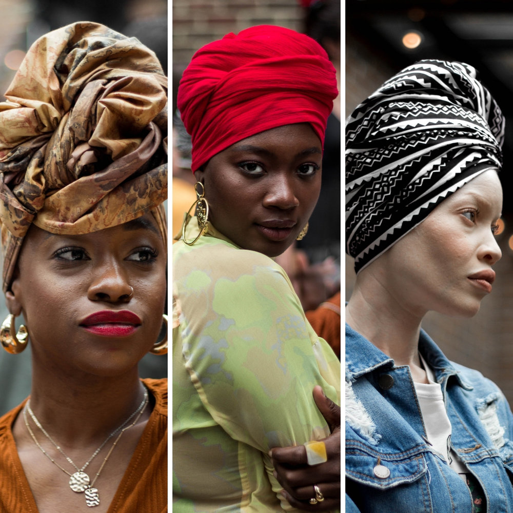The Sisterhood Of The FANM DJANM Headwraps - Photographed by Valerie Eguavoen