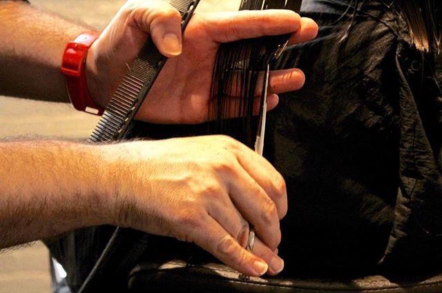 Point cutting. . . . #pointcutting #texture #cleansection #texturedbob #vidalsassoon #yspark #haireducation #lovemysalonfanily #basics
