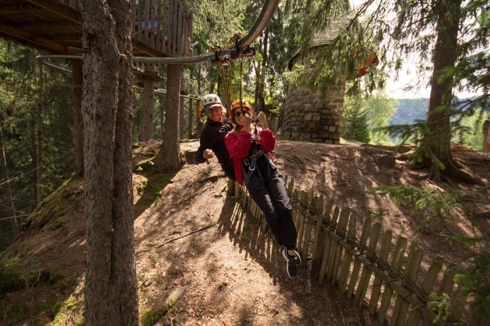 Decelerated Rollercoaster Zipline Italy