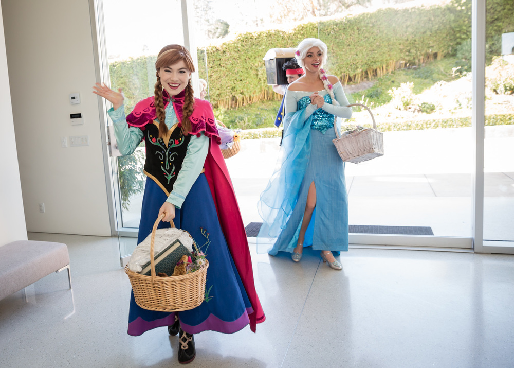 For the first time in forever, no two party characters have been quite as popular as these two Frozen-inspired sisters: the Snow Queen and Princess. Photo by  Drongophoto .