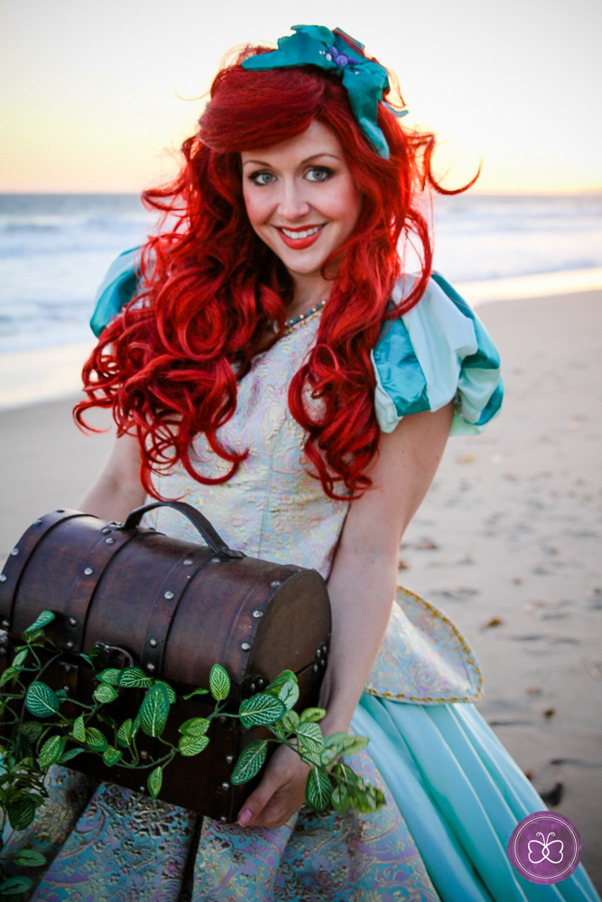 Or, The Little Mermaid comes to life in her human form for under-the-sea dancing fun.