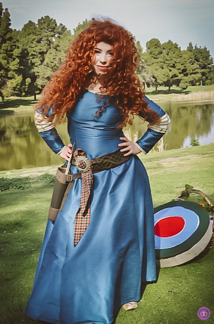 For a fate-changing princess party experience, invite this Brave Scottish lass.