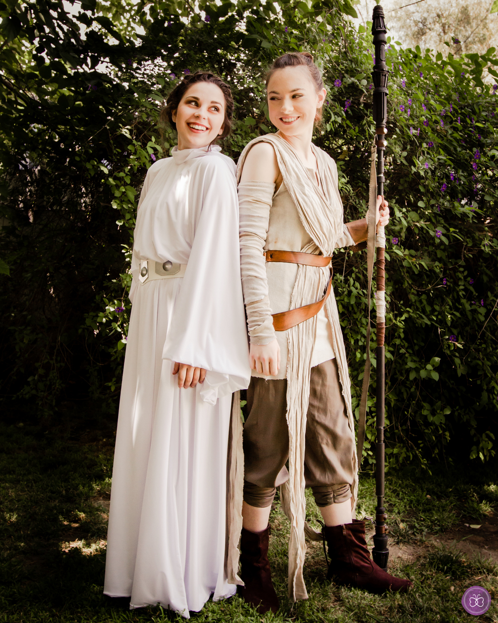 Make your Star Wars themed party multi-generational + super girl-powered with not one, but two intergalactic, fierce females. Our Princess Leia and Rey lookalikes create a stellar atmosphere performing together.
