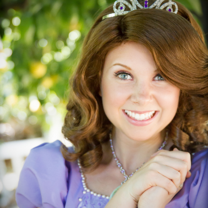 Sofia the First princess party character Los Angeles