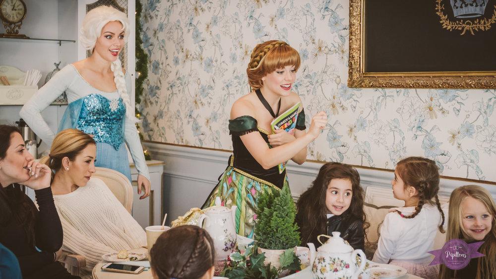 queen elsa princess anna more magic tea party french confection co burbank (1 of 1).jpg