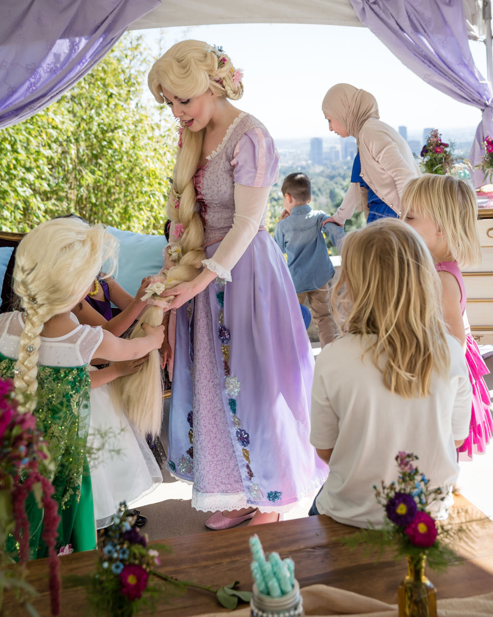 kids love rapunzel character hair beverly hills party.jpg