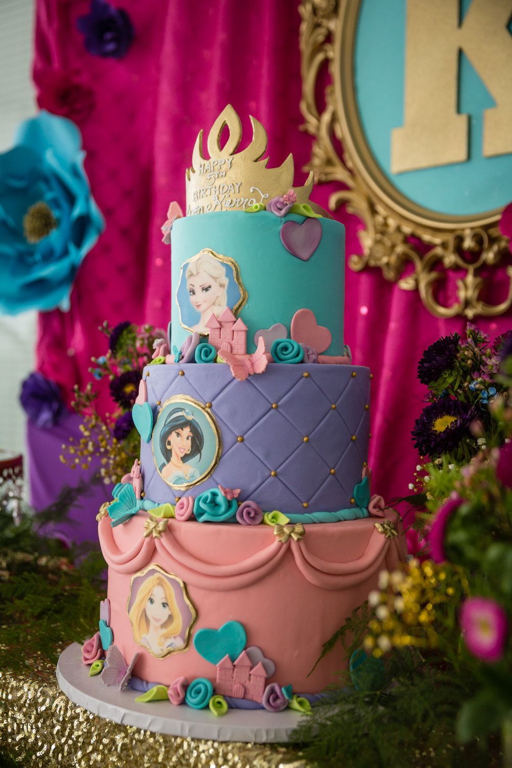 custom disney princess cake dessert table beverly hills.jpg