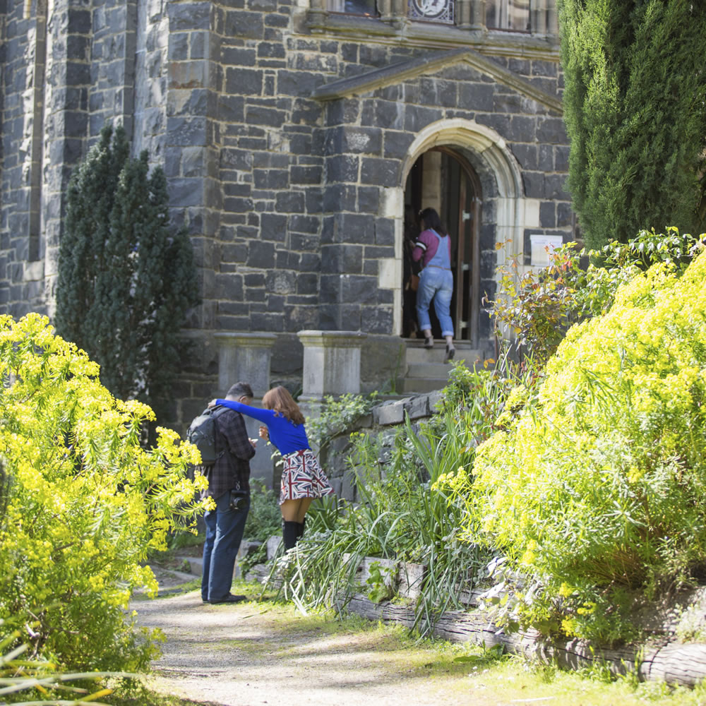 Please note that Montsalvat is a heritage-listed property with many features which cannot be changed, such as steep stairs, low ceilings and uneven paths. While every effort is made to accommodate visitors with limited mobility, there are various parts of our grounds which may not be accessible.