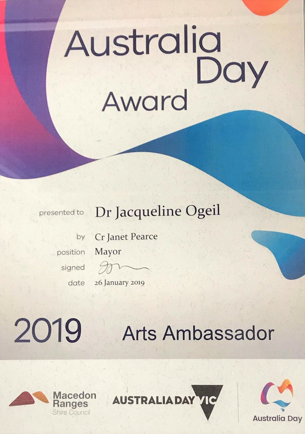 2019 aus day award.jpg