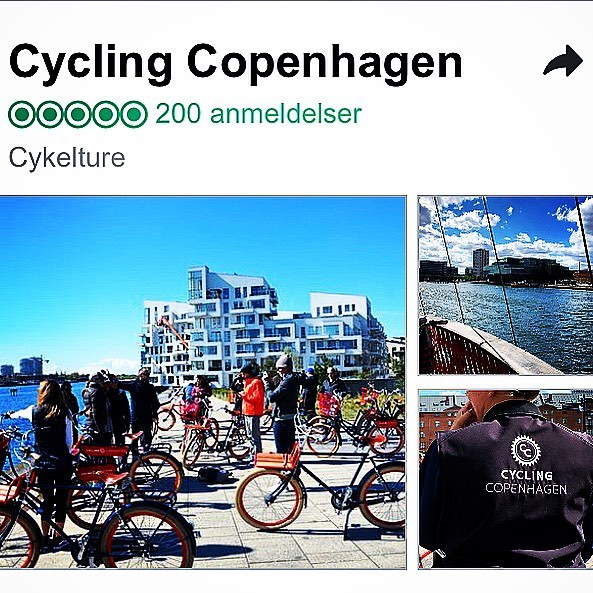 Today we reached 200 reviews on Tripadvisor from our amazing guests! Thanks for your support and many great rides in the City of Cyclists #cyclingcopenhagen #rideinstyle #copenhagenvisitorservice #copenhagen #tripadvisor #certicateofexcellence #fivestars #wonderfulcopenhagen #denmark #thankful #picoftheday #200