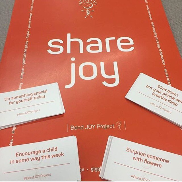 Excited to be working on this project! Check out how you can share the joy #inBend ! @bendjoyproject