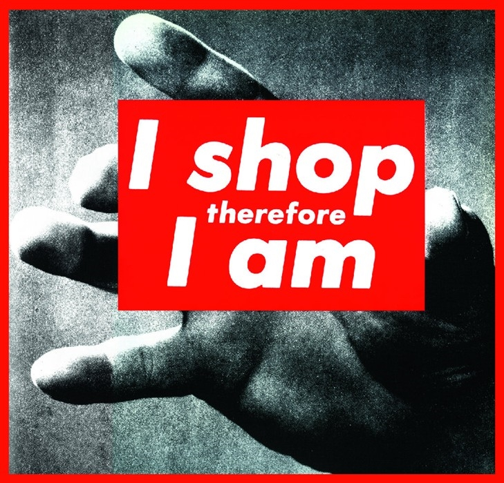 Image by Barbara Kruger