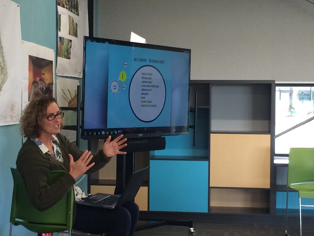 Linda Shanks (Rolleston High) unpacking Advisory Curriculum