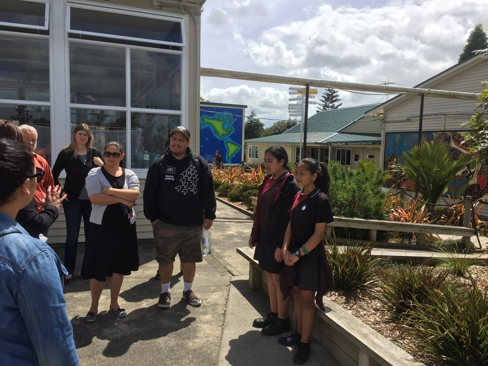 Touring around Manurewa Intermediate